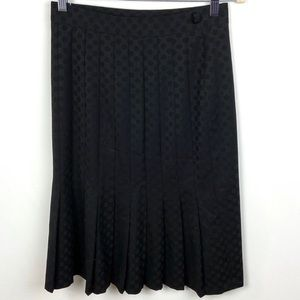 Moschino Cheap & Chic Black Pleated Skirt Size 8